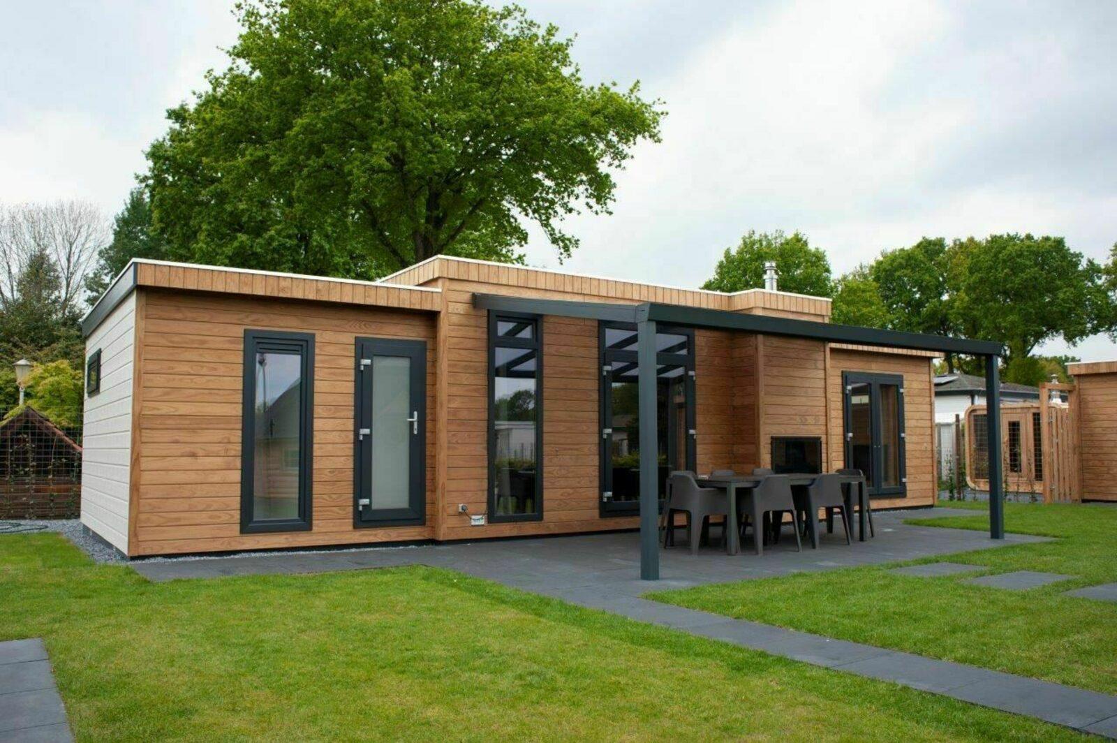 6 + 6 persoons Veluwe Villa met sauna en grillhuis - de Boshoek