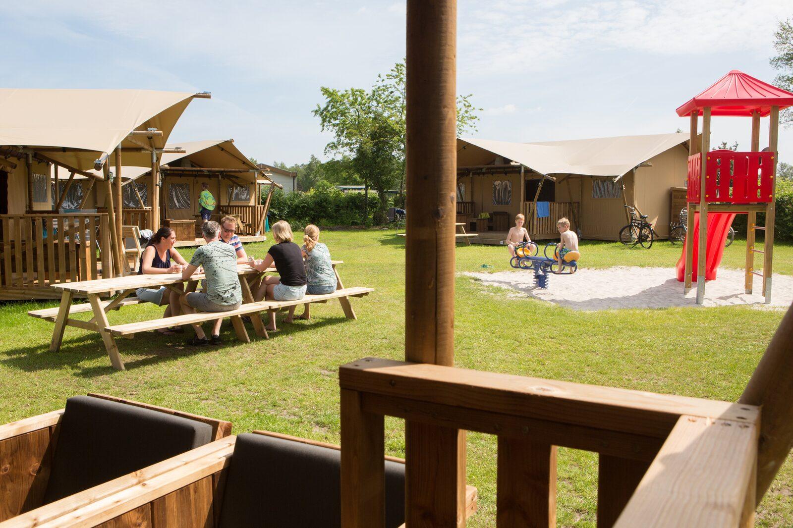 Safaritent de luxe - Camping 't Veld