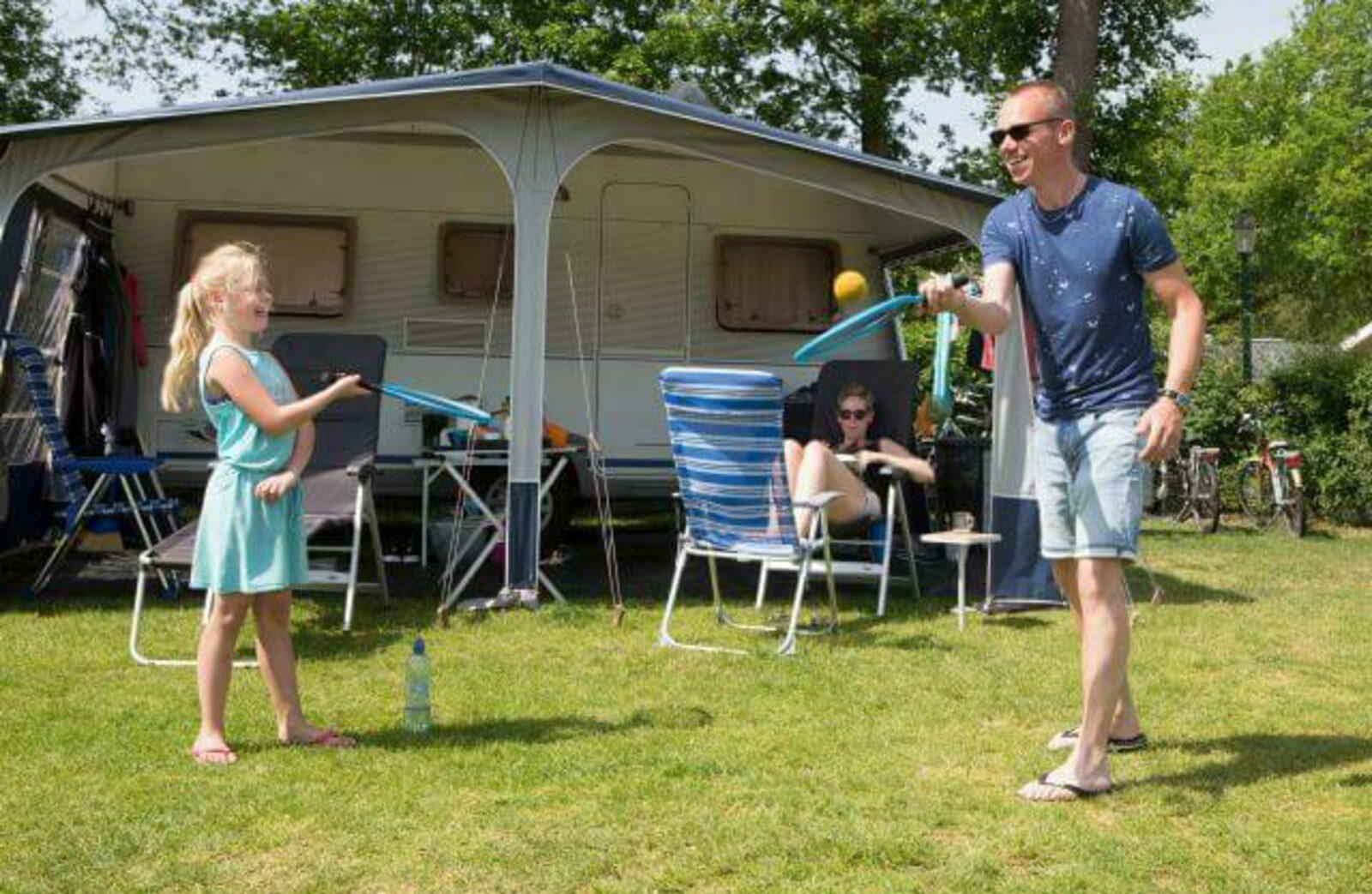 Comfort plus kampeerplaats hondenvrij - Camping 't Veld