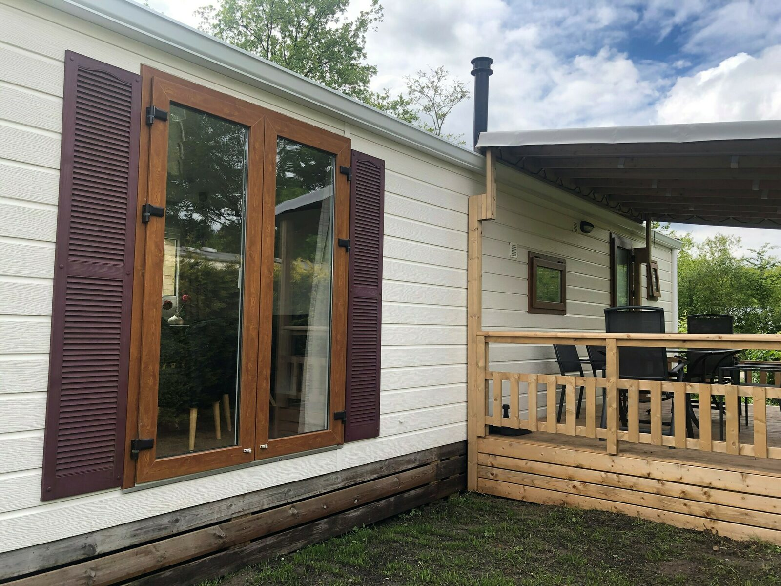 Verandachalet 6 persoons - Camping 't Veld